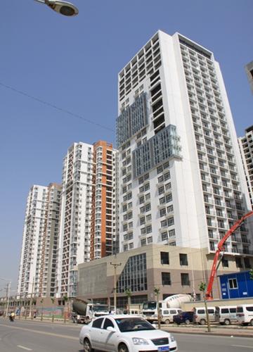 郑州北文雅阳光城1#楼