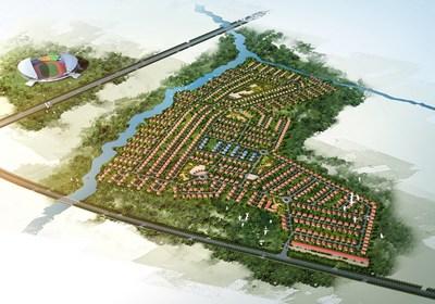 Atlas of Civil Servants'Housing Project at Ndola, Zambia